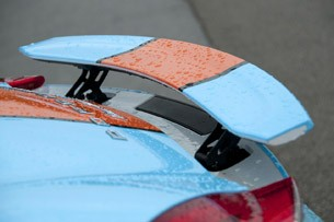 2013 Porsche Boxster S rear spoiler