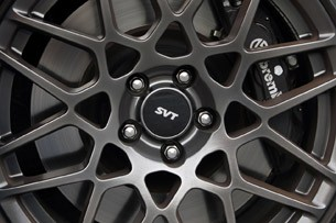 2013 Ford Shelby GT500 wheel detail
