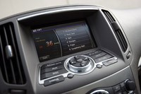 2012 Infiniti G25 audio system display
