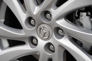 2012 Mazda3 SkyActiv wheel detail
