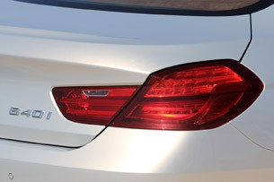 2013 BMW 6 Series Gran Coupe taillight
