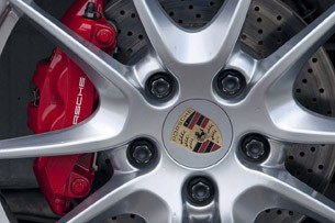 2013 Porsche Boxster S wheel detail