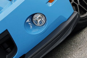 2013 Ford Shelby GT500 front splitter