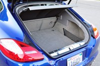 2012 Porsche Panamera Turbo S rear cargo area