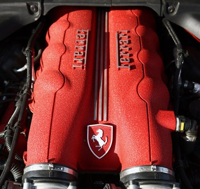 2013 Ferrari California engine