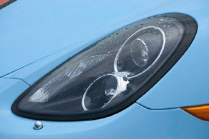 2013 Porsche Boxster S headlight