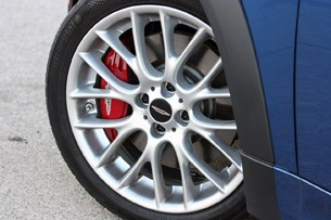 2012 Mini John Cooper Works Coupe wheel