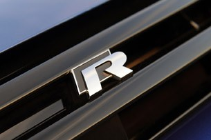 2012 Volkswagen Golf R badge