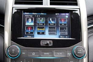 2013 Chevrolet Malibu Eco multimedia system