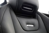 2013 Mercedes-Benz SL63 AMG seat detail
