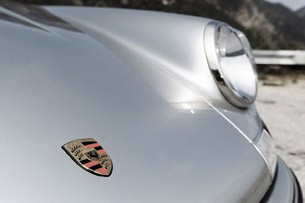 Porsche 911 Restored by Singer front detail