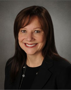 Mary Barra - General Motors - headshot