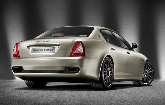 2011 Maserati Quattroporte Sport GT S Awards Edition - rear three-quarter view