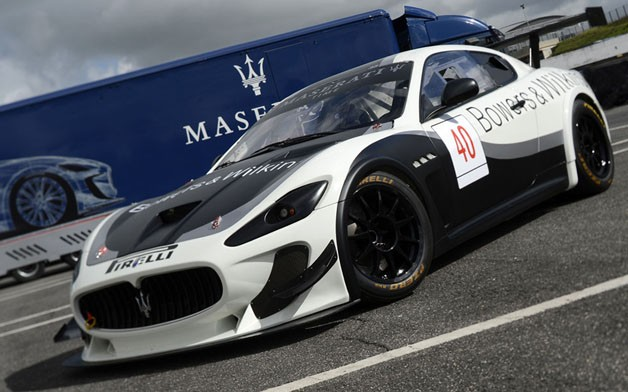 2012 Maserati GranTurismo MC Trofeo