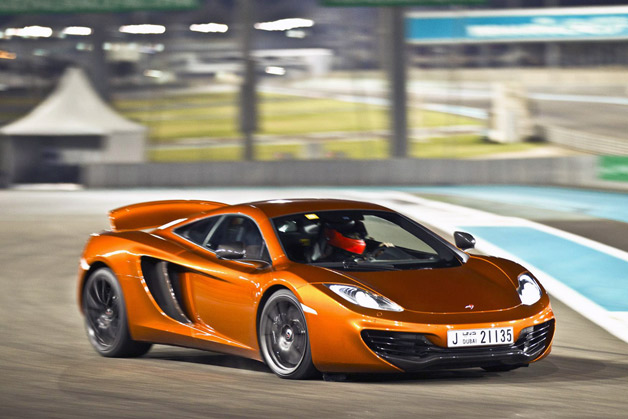 McLaren MP4-12C in Abu Dhabi