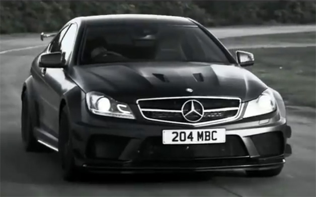 Mercedes-Benz shows off the dark side of the C63 AMG Black Series