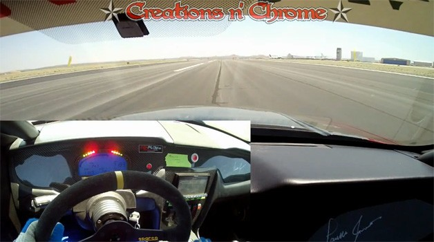 Ford Mustang top speed video