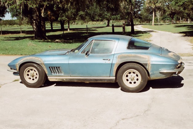 Neil Armstrong's alleged 1967 Chevrolet Corvette