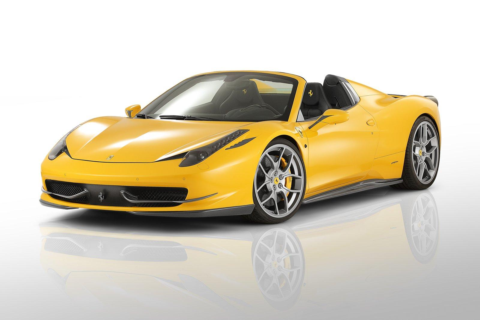 ferrari 458 spider news and information autoblog - Ferrari 2014 Yellow