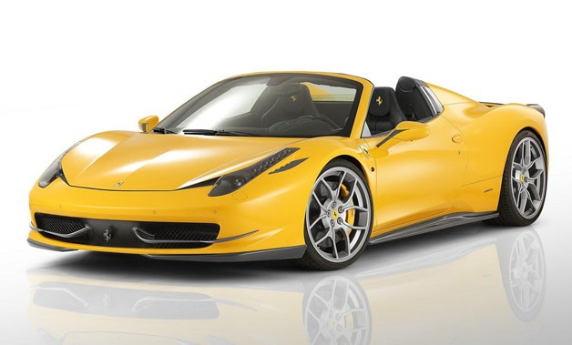 Ferrari 458 Spider by Novitec Rosso