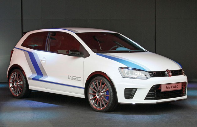 Volkswagen Polo WRC Street - static, front three-quarter view