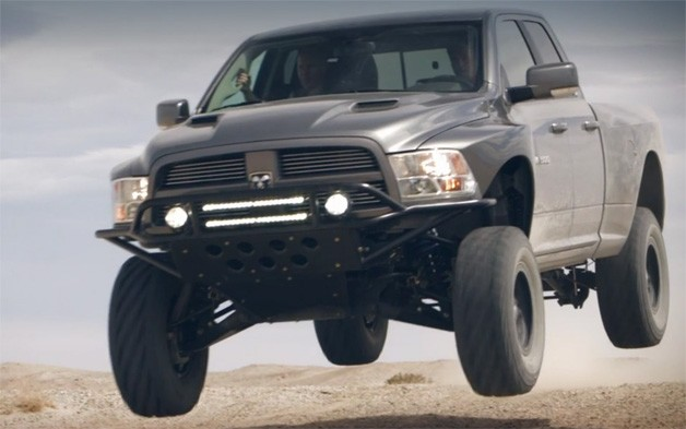 Ram Runner takes on Raptor in Duel in the Desert [w/video]