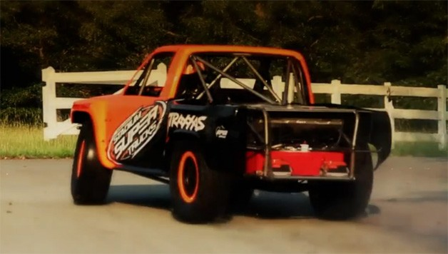 Robby Gordon Stadium Super Trucks - video screencap