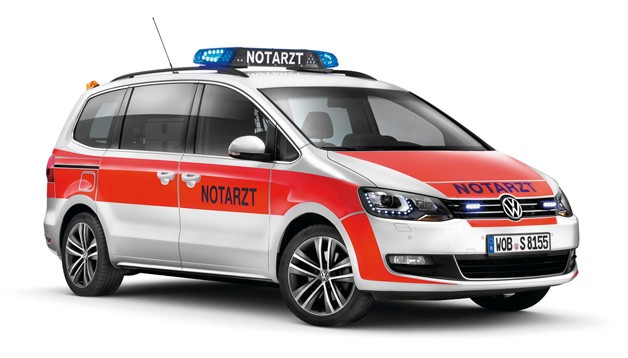 sharanbulanceweb Volkswagen presents new Sharanbulance at RETTmobil emergency vehicles expo