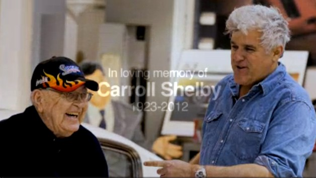 Carroll Shelby and Jay Leno