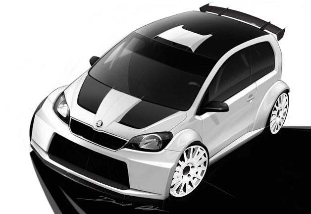 Skoda Citigo Rally concept