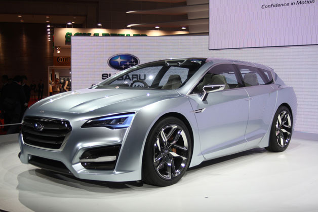 Subaru Advanced Tourer Concept - live from 2011 Toyko Motor Show