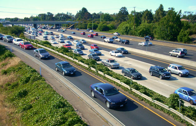 Silicon Valley Highway 101 Traffic Hell, by Richard Masoner