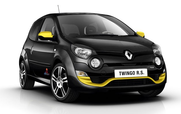 Renault fetes Red Bull Racing with special book Twingo