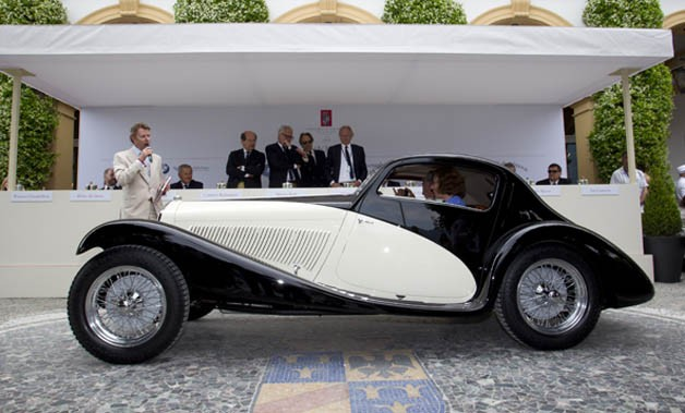 1933 Alfa Romeo 6C 1750 GS at Villa d'Este 2012
