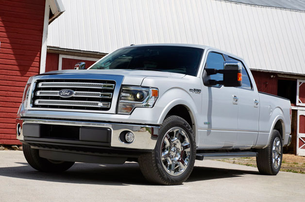 Ford officially took the wraps off the 2013 Ford F-150 this morning in