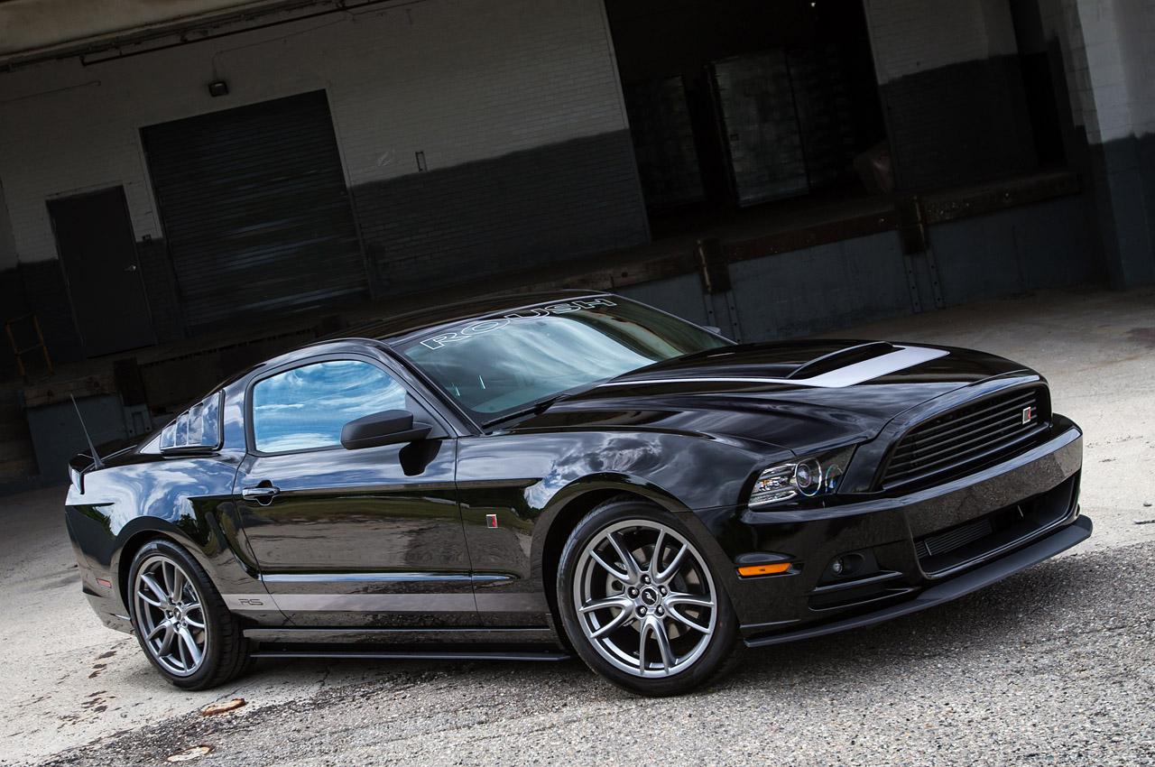 roush adds v6 powered 2013 rs mustang to lineup autoblog. Black Bedroom Furniture Sets. Home Design Ideas
