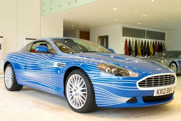 01 aston martin db9 1m 628 Aston Martin celebrates millionth Facebook fan with DB9 1M