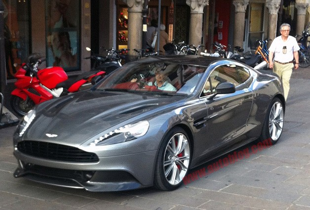 Aston Martin AM 310 Concept... possible Vanquish?