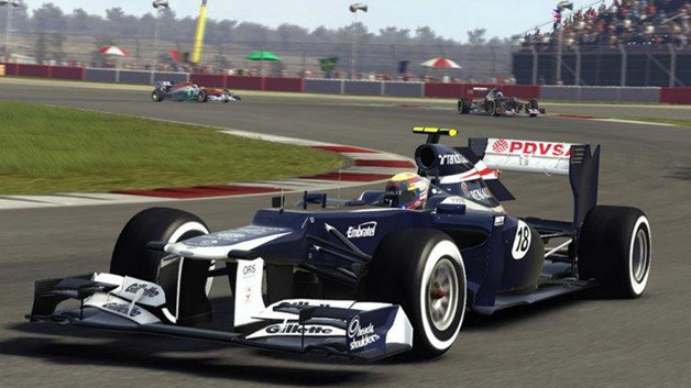 F1 2012 Circuit of the Americas - Codemasters' F1 2012 game screencap