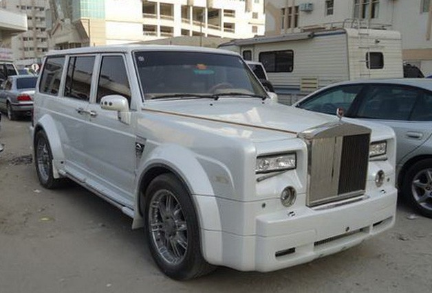 Rolls-Royce Nissan Patrol