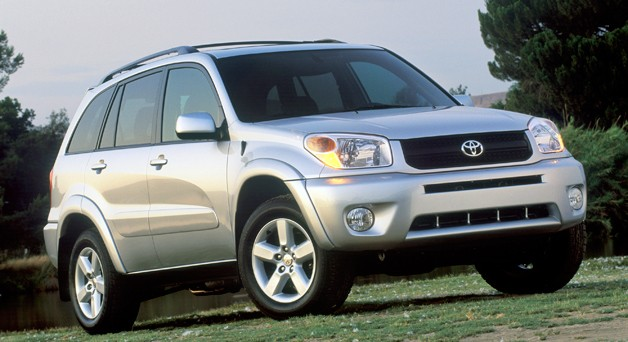 2006-2008 Toyota RAV4 crossover  - front three-quarter view