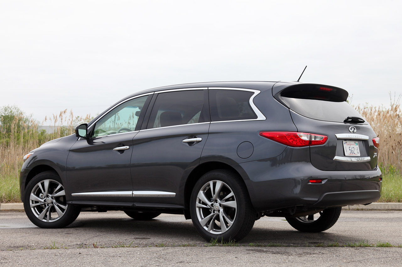 infiniti recalls jx over gas gauge issue autoblog. Black Bedroom Furniture Sets. Home Design Ideas