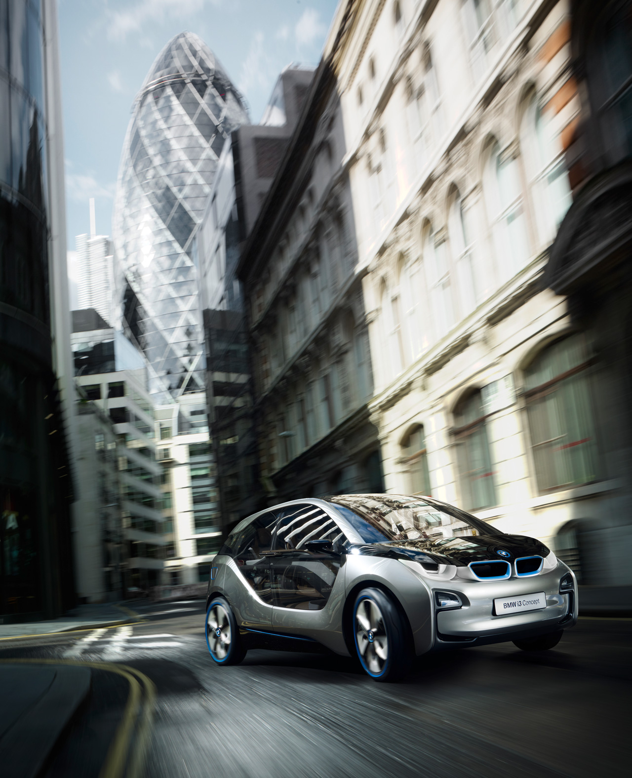 BMW I3 Gets Luxury Makeover For Opening London BMW I Store
