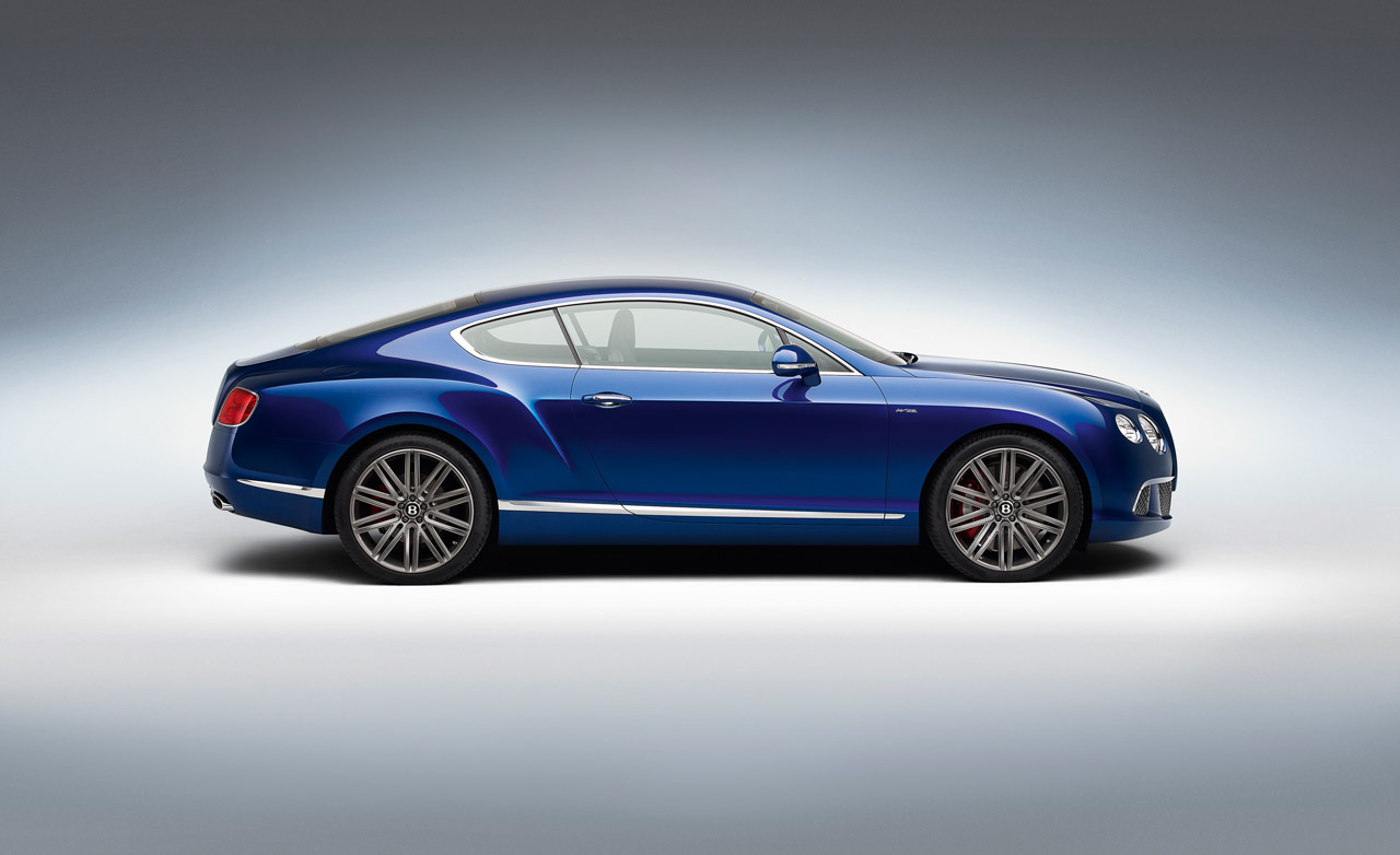 2013 Bentley Continental Gt Speed Debuting At Goodwood
