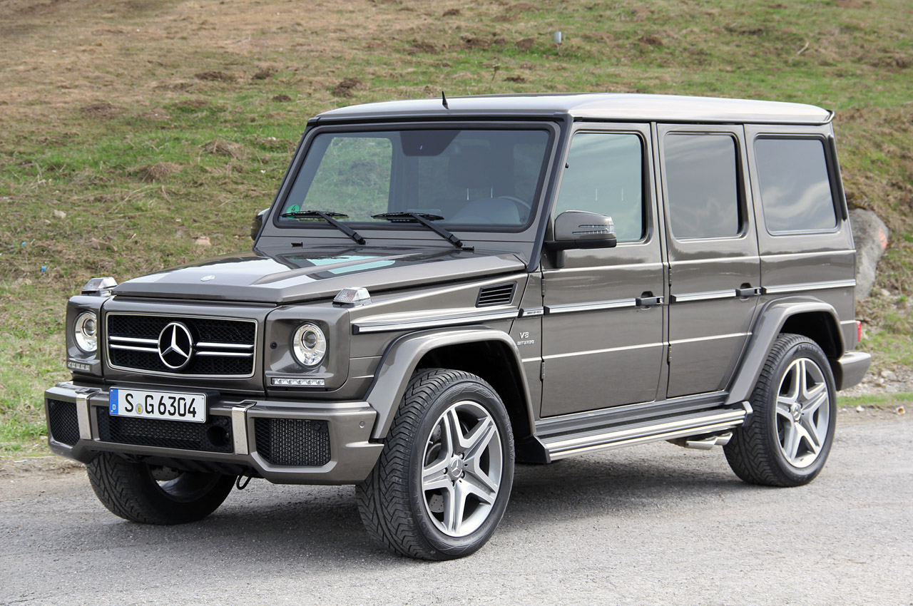 2013 mercedes benz g63 amg w video autoblog. Black Bedroom Furniture Sets. Home Design Ideas
