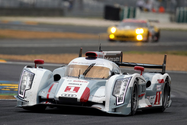 Le Mans starting grid set, Audi hybrid takes pole but Toyotas break up the pack - Autoblog Green