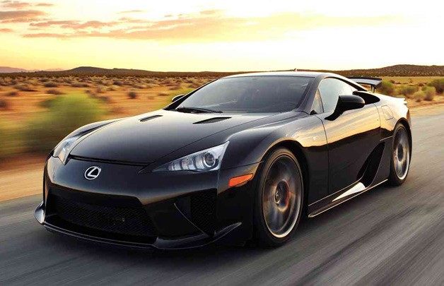 12 2011 lexus lfa review Lexus LFA almost completely sold out
