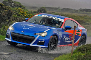 16 subaru isle of man 2012 opt opt Driving on the edge with Subaru at the Isle of Man