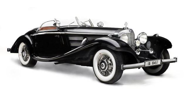 1936 Mercedes-Benz 540 K von Krieger Special Roadster