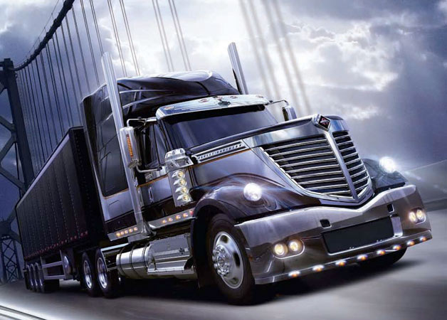 2009 Navistar International Lonestar Harley-Davidson edition big rig